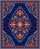 Bunte Schablone für Teppich stock abbildung