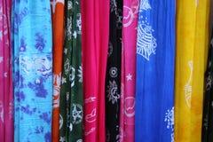 Bunte Schals Stockbilder