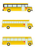 Schulbus. stock abbildung