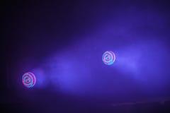 Bunte Scheinwerferlichter des Stadiums LED lizenzfreies stockfoto