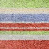 Bunte Schichten Teppich-Beschaffenheit Lizenzfreie Stockfotografie