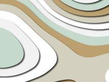 Bunte schnitzende Kunst Papier geschnittener abstrakter Hintergrund mit Papier schnitt Formen SchablonenEntwurf für Geschäftsdars stockbilder