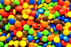 Bunte Schokolade Lizenzfreie Stockfotos