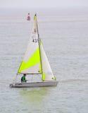 Bunte Segeln-Schlauchboote Lizenzfreies Stockfoto