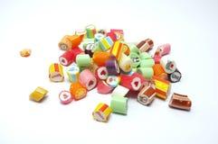 Bunte sortierte Süßigkeiten Lizenzfreies Stockfoto