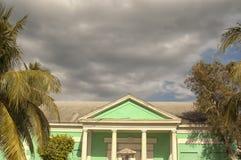 Bunte städtische Häuser von Nassau lizenzfreie stockbilder