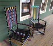 Bunte Stühle Lizenzfreie Stockbilder