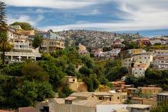 Bunte Stadt in Südamerika Lizenzfreie Stockfotos