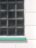 Bunte Stadt - weißes Fenster lizenzfreie stockbilder
