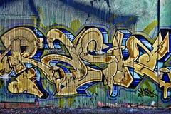 Bunte Straßen-Graffiti Lizenzfreie Stockfotos