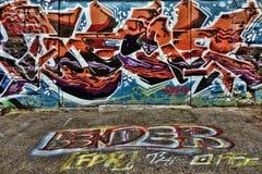 Bunte Straßen-Graffiti Lizenzfreie Stockfotografie