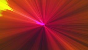 Bunte Strahlen des Lichtes stock footage