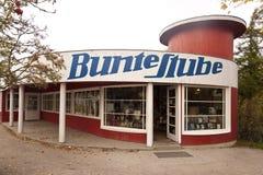 Bunte Stube en Ahrenshoop Fotos de archivo libres de regalías