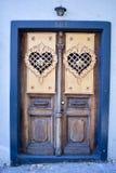 Bunte Tür in San Francisco Stockfotografie