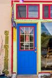 Bunte Tür-und Fenster-Kombination Lizenzfreie Stockbilder