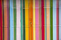 Bunte Türen -1 Lizenzfreies Stockbild