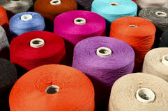 Bunte Threads Stockbilder