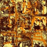 Bunte Tintenspritzen-Hintergrundgestaltungselemente lizenzfreie abbildung