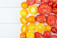 Bunte Tomaten Lizenzfreie Stockfotografie
