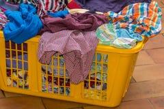 Bunte trockene Wäscherei lizenzfreies stockbild