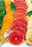 Bunte und süße Frucht lizenzfreie stockfotografie