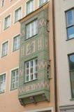 Bunte und verzierte errichtende Wand Stockbilder