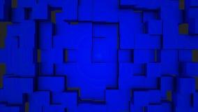 Bunte Würfel-bewegliche nahtlose Schleife Nahtloser schlingender abstrakter Würfelhintergrund Beweglicher Hintergrund der geometr stock video footage