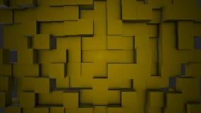 Bunte Würfel-bewegliche nahtlose Schleife Nahtloser schlingender abstrakter Würfelhintergrund Beweglicher Hintergrund der geometr stock footage