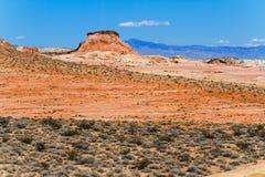 Bunte Wüste, Süd-Nevada Stockfotografie