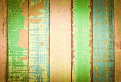 Bunte Wand der Weinlese Stockbilder