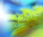 Bunte waterdrops Lizenzfreies Stockfoto