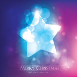 Bunte Weihnachtskarte Stockfotos