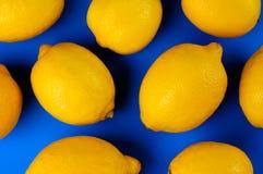 Bunte Zitrone-Abstraktion Lizenzfreie Stockfotografie