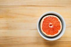 Bunte Zitrusfrucht von oben Lizenzfreie Stockfotografie