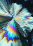 Bunte Zuckerkristalle Stockfoto