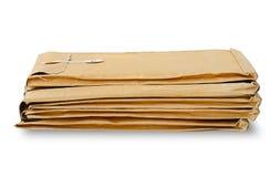 Bunten av använt packar in Royaltyfri Fotografi