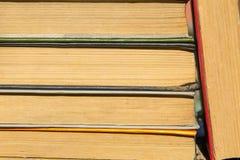 Bunten av det gammalt bokar Arkivbild
