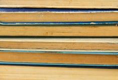 Bunten av det gammalt bokar Arkivfoton