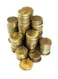 Bunten av myntar Arkivbild