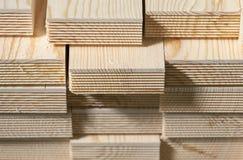 Bunten av sörjer wood plankor arkivfoton