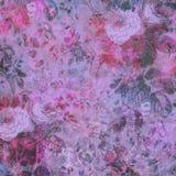 Bunter abstrakter Blumenhintergrund Stockfoto