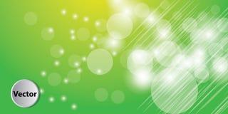 Bunter abstrakter Bokeh-Vektor-Hintergrund vektor abbildung