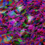 Bunter abstrakter geometrischer Hintergrund Stockbilder