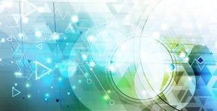 Bunter abstrakter geometrischer Hintergrund für Design Lizenzfreie Stockfotografie