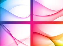 Bunter abstrakter Hintergrund Lizenzfreies Stockbild