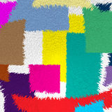 Bunter abstrakter Hintergrund Stockbilder