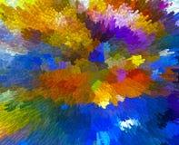 Bunter abstrakter Hintergrund Stockfotografie