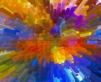Bunter abstrakter Hintergrund Lizenzfreie Stockfotos