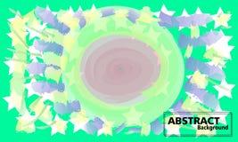 Bunter abstrakter Hintergrund Fließen und dynamischer Formhintergrund vektor abbildung