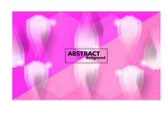 Bunter abstrakter Hintergrund Fließen und dynamischer Formhintergrund stock abbildung